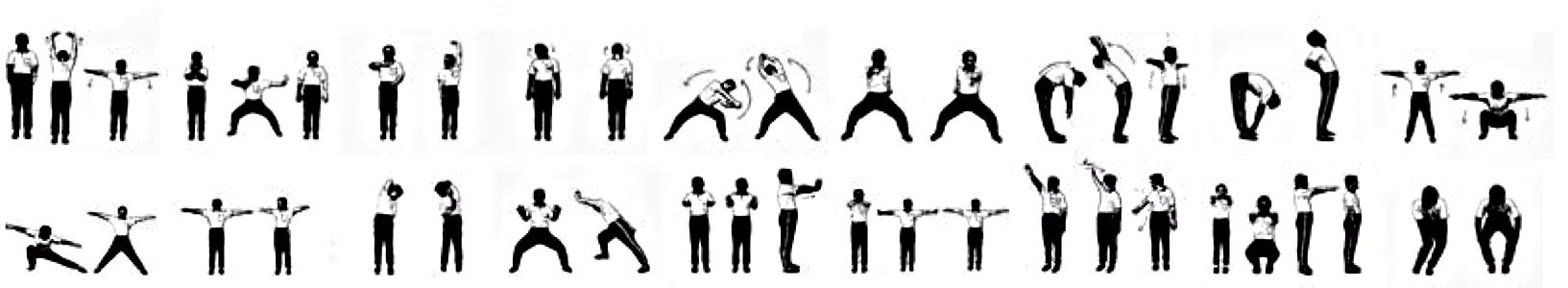 18-Lohan-Hands-Exercises Shaolin Cosmos Qigong