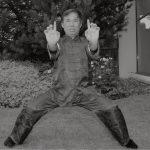 Grandmaster Wong Kiew Kit in Golden Bridge Stance
