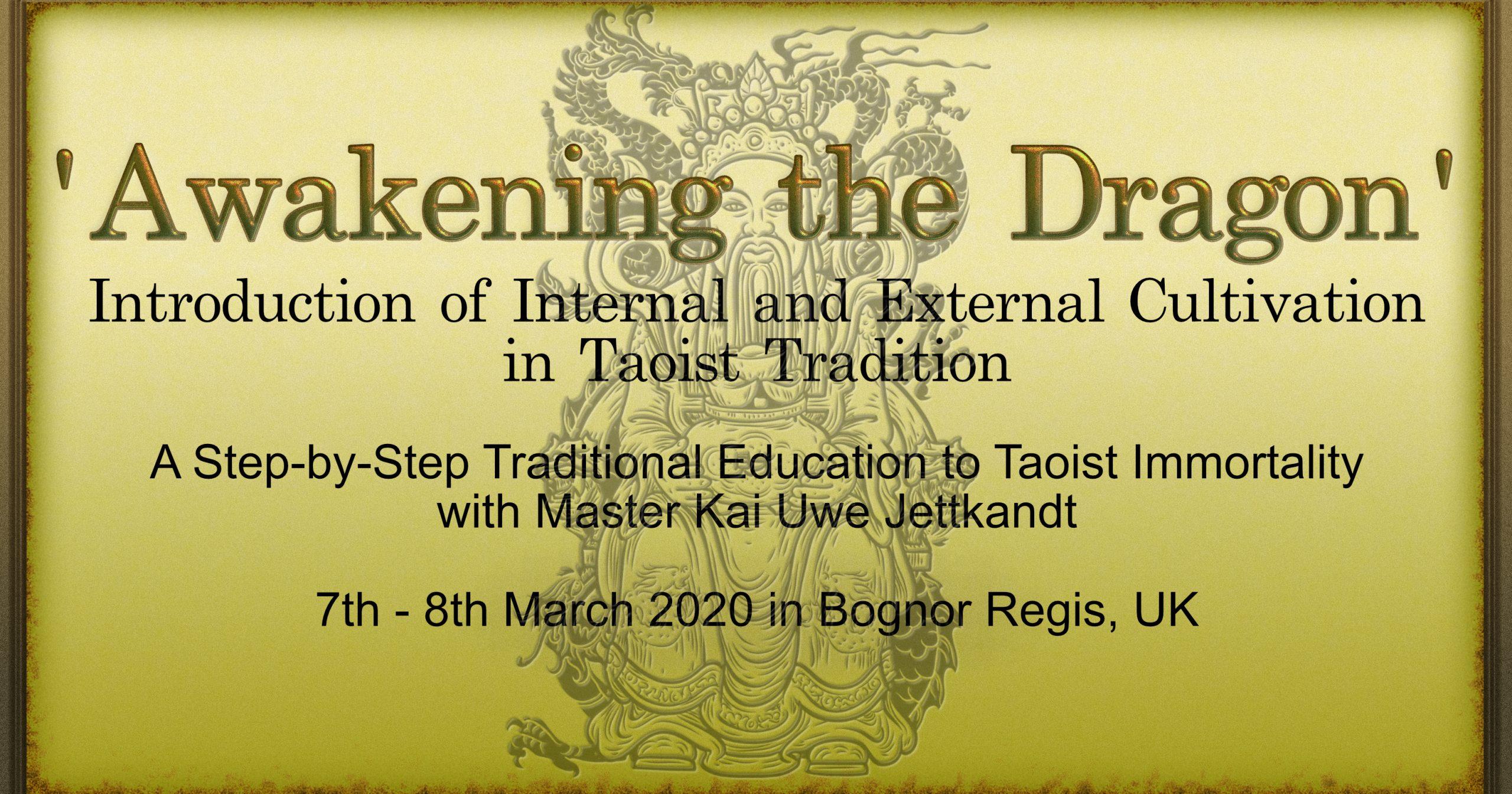 Taoist Immortal Training_ZenArts_Master Kai Uwe Jettkandt