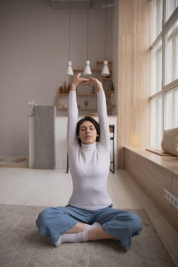Yoga - Photo by Ekaterina Bolovtsova from Pexels